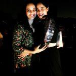 Suja Varunee, Sujatha Naidu, bindhu madhavi, hug, friends