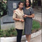 Suja Varunee, Sujatha Naidu, friend