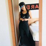 Vani Bhojan, black, winsome