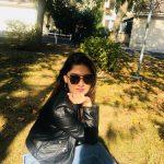Vani Bhojan, coolers, grass