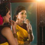 Vani Bhojan, mirror, smile, lovable
