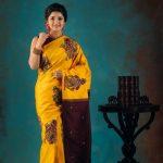Vani Bhojan, yellow saree