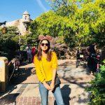 Vani Bhojan, yellow t shirt, outing