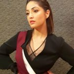 Yami Gautam, indian actress, black dress