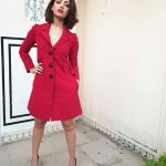 Yami Gautam, red dress, cute