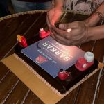 sarkar success party, cake, mixi, 200 cr