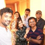 sarkar success party, vijay, murugadoss, keerthy suresh, ar rahman, varalaxmi (3)