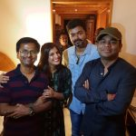 sarkar success party, vijay, murugadoss, keerthy suresh, ar rahman, varalaxmi (5)