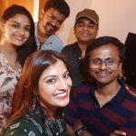 sarkar success party, vijay, murugadoss, keerthy suresh, ar rahman, varalaxmi (6)
