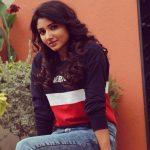 Adhiti menon, colour t shirt, endearing