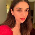 Aditi Rao Hydari, super, hd, red dress, tamil actress