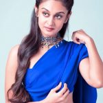 Aishwarya Arjun, saree, photo shoot, sarja ponnu