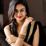 Aishwarya Arjun, saree, photoshoot, black saree, Prema Baraha
