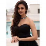 Aishwarya Arjun, tamil actress, kannada, cute, black