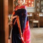 Anjena Kirti, 2018 Photo shoot, black saree