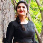 Anjena Kirti, RK Nagar, black dress
