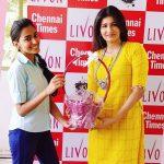 Anjena Kirti, RK Nagar, trendy, yellow