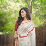 Anju Kurian, Shibu Movie Actress, kerala saree