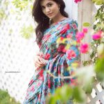 Anju Kurian, Unseen photo Shoot, colour ful saree, trendy