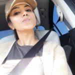 Anju Kurian, car, cap