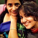 Anupama Parameswaran, mother, selfie, mom