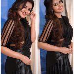 Anupama Parameswaran, saree, black dress, cute