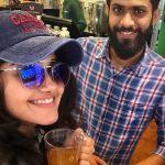 Anupama Parameswaran, selfie, tamil actress, friends
