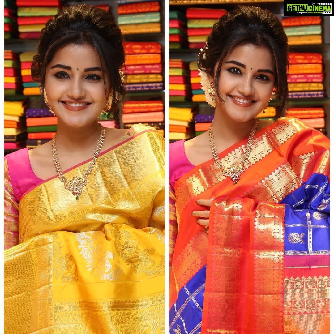 Anupama Parameswaran Traditional Saree Tamil Actress Hd Gethu Cinema