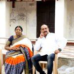 Vijayakumar wife Muthukannu @ Thadam Movie Shooting Begins Photos