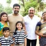 Aarthi Mohan, Arun Vijay, Vijayakumar, Muthukannu @ Thadam Movie Shooting Begins Photos