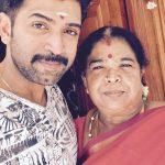 Arun Vijay, Family, mother, amma, selfie