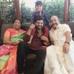 Arun Vijay, Family, son, father, mother