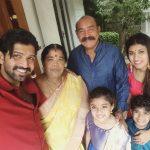 Arun Vijay, Family, wife, hd, wallpaper, son, daughter