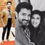 Arun Vijay, family, collage, wife, aarthi mohan