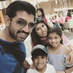 Arun Vijay, family, event, tamil actor, selfie, hd