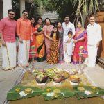 Arun Vijay, family, pongal, festival, mom, appa