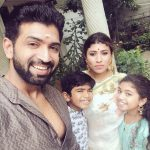 Arun Vijay, family, wallpaper, hd, wife