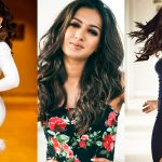 Catherine Tresa, 2018, hd, wallpaper, collage, photoshoot, Vantha Rajavathaan Varuven