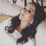 Catherine Tresa, white dress, latest, rare