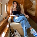 Disha Patani, aeroplane, attractive
