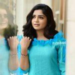 Gouri G Kishan, Anugraheethan Antony Actress, blue dress, marvelous
