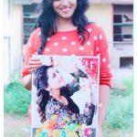 Indhuja, athulya ravi, birthday poster