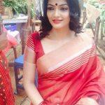 Kalpika Ganesh, red dress