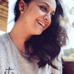 Keerthy Suresh, hd, no makeup, smile, cute