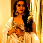 Keerthy Suresh, hd, press meet, sarkar, telugu actress