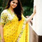 Keerthy Suresh, hd, saree, cute, best, tamil actress