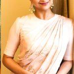Keerthy Suresh, hd, saree, unseen, rare
