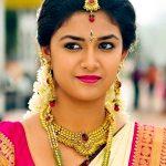 Keerthy Suresh, hd, traditional, saree, cute