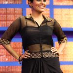 Kiki Vijay, black dress, smile, cute, Namma Ooru Coloru