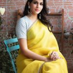 Lavanya Tripathi, saree, traditional look, actress